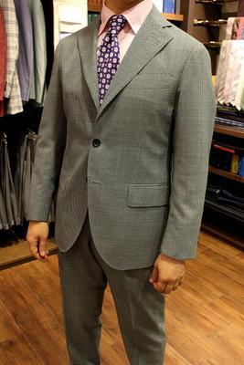 Model:BLACK LABEL COMFORT SENZA INTERNO Fabric:CANONICO 100%Wool(Rustic Tropical)