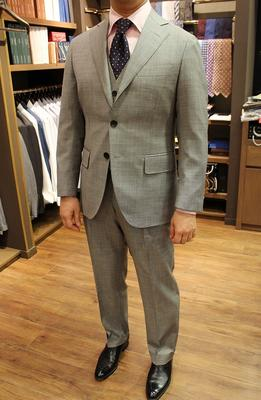 Model:BLACK LABEL COMFORT Fabric:Carlo Barbera 100%Wool(Super130's)
