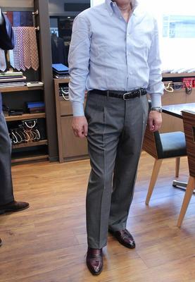 BESPOKE PANTS by OSAKU HAYATO Fabric:DRAPERS 100%Wool(Super150's)