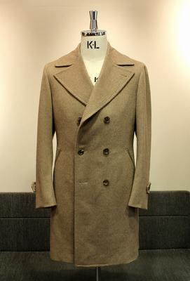 Model:BLACK LABEL DOUBLE ULSTER COAT Fabric:100%Cashmere