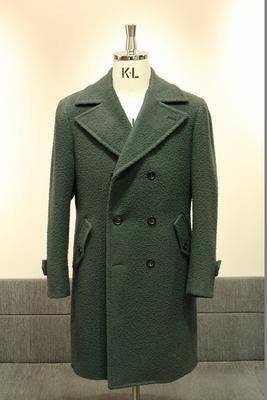 Model:BLACK LABEL DOUBLE ULSTER COAT Fabric:100%Wool CASENTINO