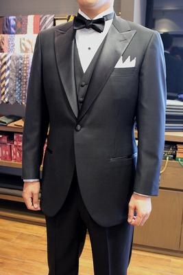 Model:BLACK LABEL CLASSIC Fabric:DORMEUIL AMADEUS