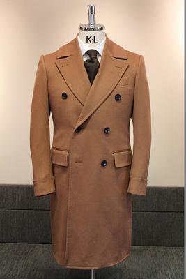 Model:BLACK LABEL POLO COAT Fabric:LORO PIANA Wool&Cashmare