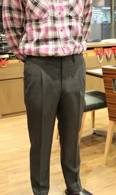 BESPOKE PANTS by OSAKU HAYATO Fabric:DRAPERS FIVESTARS