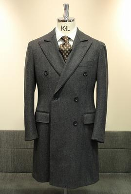 Model:BLACK LABEL DOUBLE CHESTER COAT Fabric:Caccioppoli Wool&Cashmere