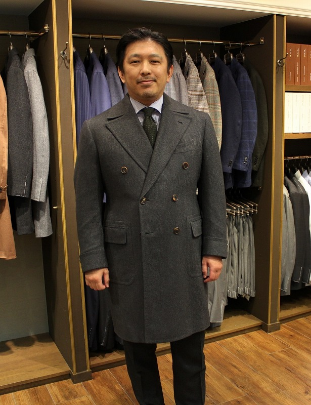 Sartoria Cavuto Bespoke Polo Coatが完成!!!