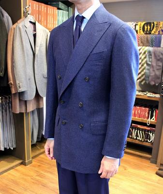Model:HAND MADE MODEL Fabric:LORO PIANA 100%Cashmere