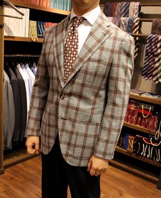 BESPOKE JACKET Fabric:DRAPERS 100%Wool