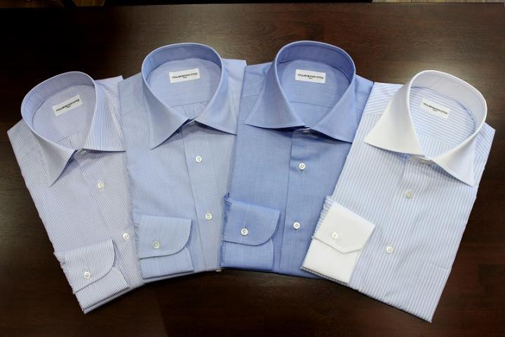 今シーズンもきれいなシャツがたくさん出来上がっております!