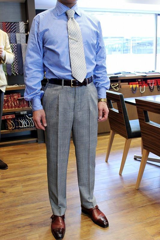 尾作隼人氏のビスポークパンツ 新しいお客様が増えています!