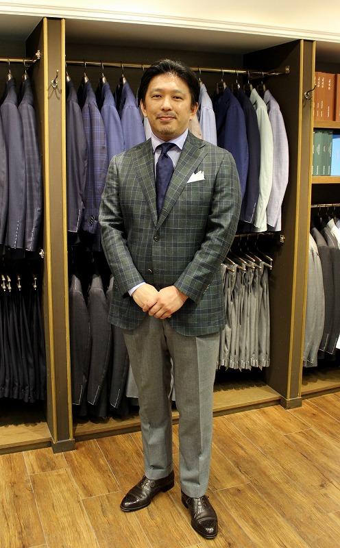 お薦めのジャケット 今シーズンもWool,Silk and Linenがきれいです!