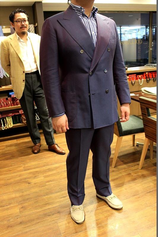 BLACK LABEL JACKET + BESPOKE PANTS by OSAKUでインパクトのあるスーツ!
