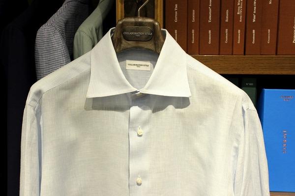 16SS SOL サックスシャツ.jpg