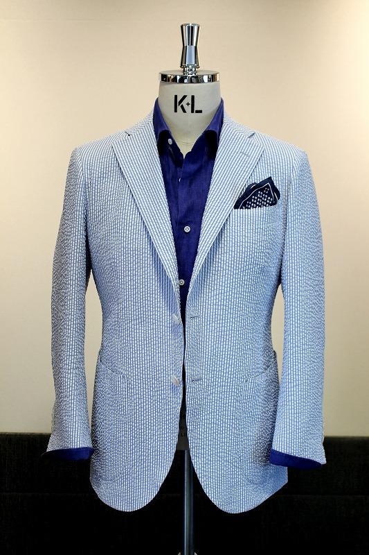 Solbiati Cotton Seersucker Jacket