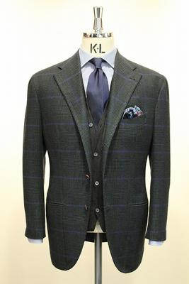 "BESPOKE JACKET Fabric:DRAPERS""MAGIC CASHMERE""100%CASHMERE"