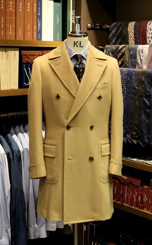 2016秋冬シーズンもコートのオーダーが人気です!