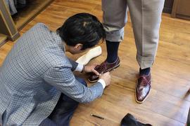 間違いない仕事と素晴らしいクオリティ YUKI SHIRAHAMA BOTTIERのビスポークシューズ