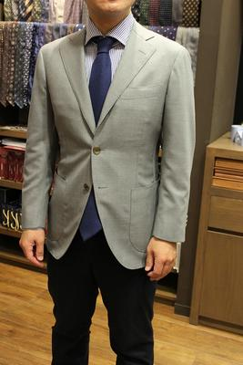 Model:BLACK LABEL COMFORT Fabric:ARISTON 100%Wool(SUPER130'S)