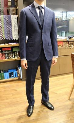 Model:BLACK LABEL COMFORT Fabric:CACCIOPPOLI 100%Wool