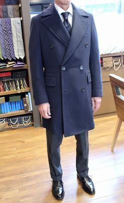 "Model:BLACK LABEL POLO COAT Fabric:LORO PIANA""BACTRIAN""100%Baby Camelhair"