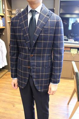 BESPOKE JACKET Fabric:LORO PIANA 100%Wool