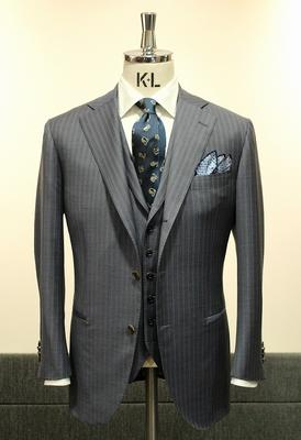 Model:BLACK LABEL COMFORT Fabric:LORO PIANA ROYAL WISH Super170'SWool&Silk