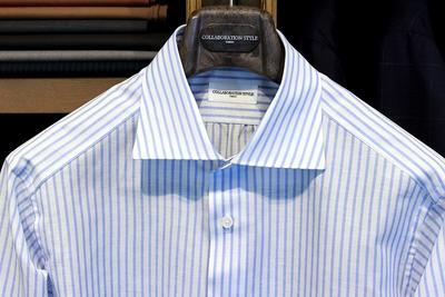 MINAMI SHIRTS for COLLABORATION STYLE Fabric:DAVID&JOHN ANDERSON Linen&Cotton