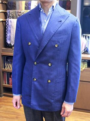 Model:BESPOKE JACKET Fabric:ARISTON CASHMERE&SILK