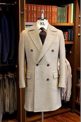 Model:BLACK LABEL POLO COAT Fabric:LORO PIANA PECORA NERA