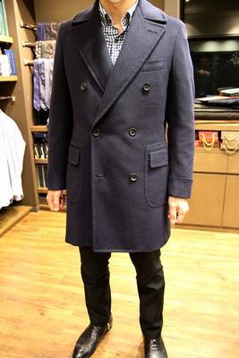 Model:DOUBLE POLO COAT Fabric:LORO PIANA BACTRIAN 100%Babycamel hair