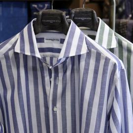 夏に向けてビジネスにもカジュアルにもお薦めのコットンリネンシャツ