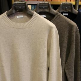 NEW COLLABORATION! dalmo cashmere のオーダーカシミヤニット