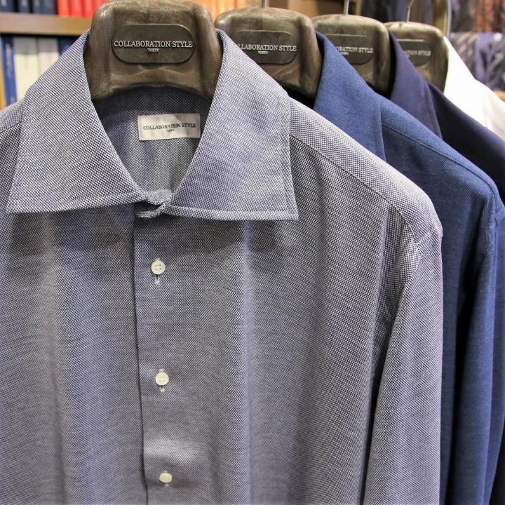 極上のジャージーシャツ Fabric by LORO PIANA