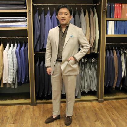 スーツにもジャケットにもお薦めのLORO PIANAのSUMMERTIME