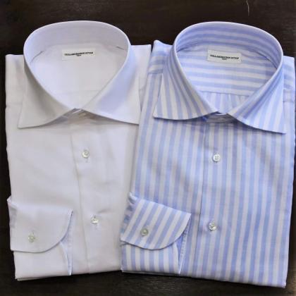 久しぶりにシャツの出来上がりをまとめてご紹介