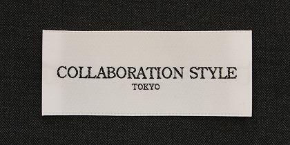 COLLABORATION STYLE のオーダースーツ <WHITE LABEL>