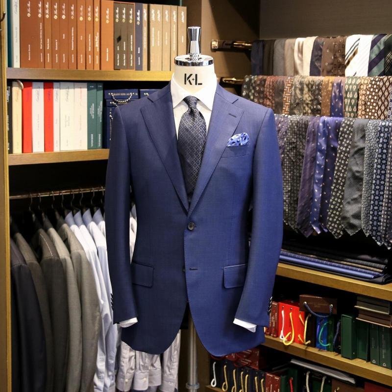MODEL:BLACK LABEL FABRIC:CARLO BARBERA 100%Wool
