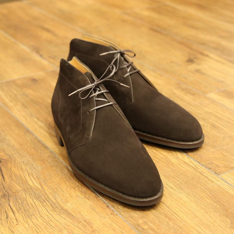 BESPOKE SHOES by YUKI SHIRAHAMA BOTTIER Chukka boots