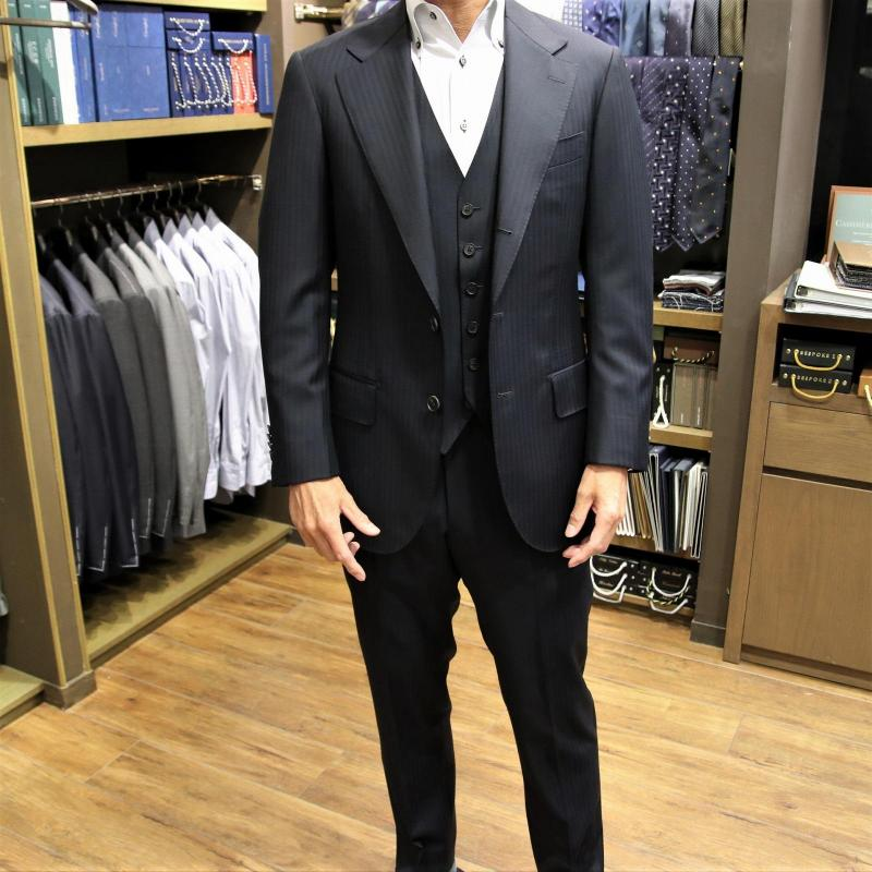 MODEL:BLACK LABEL FABRIC:CANONICO 100%WOOL